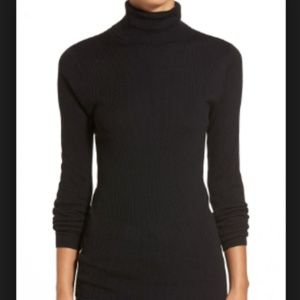 Halogen Black Turtle Neck!